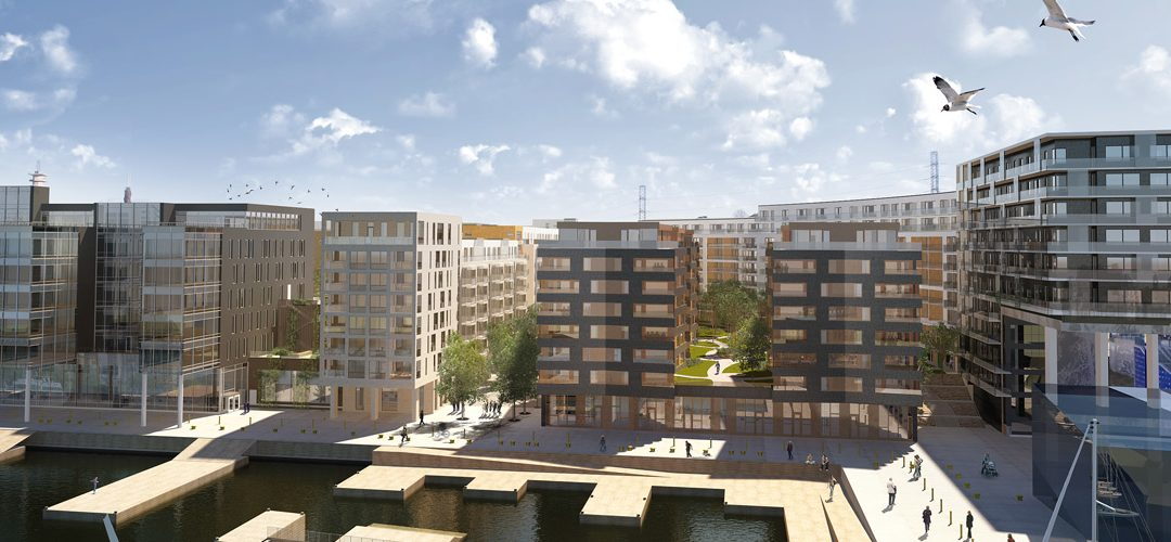 Areim Fond II – 50% Owner of New Residential Development in Hammarby Sjöstad