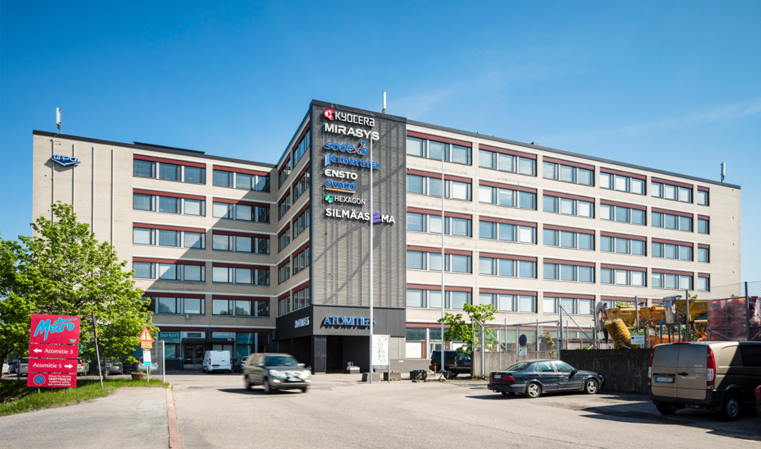 Areim disposes an office asset in Helsinki